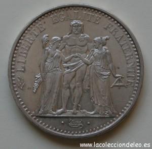 10 francos 1965 tras