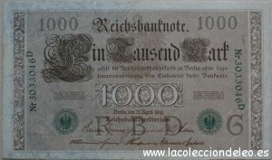 1000 marcos 1910