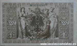 1000 marcos 1910 tras
