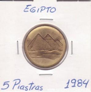 egipto 5 piastras