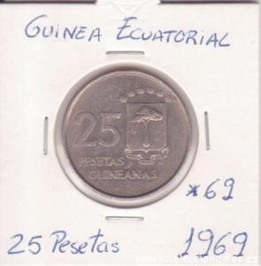 guinea 25 pesetas