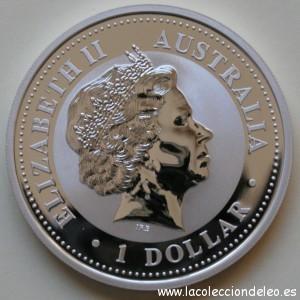 1 dolar 2004 Australia tras