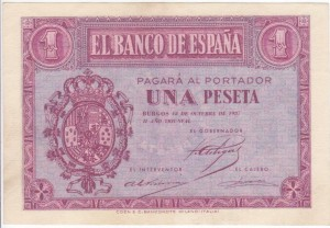 1 peseta 1937