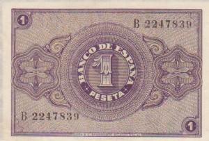 1 pesetas 28-02-38 rev
