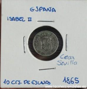 10 céntimos escudo 186