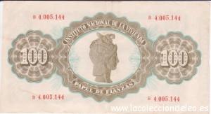 100 fianzas 1968 tras