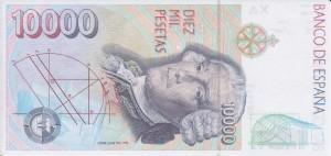 10000 pesetas rev