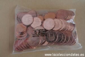 5 céntimos 2014 Andorra