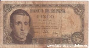 5 pesetas 1951