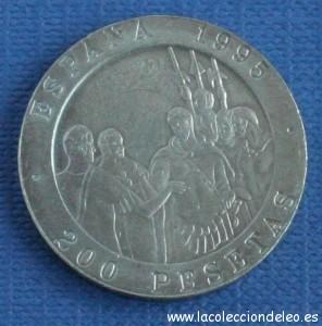 200 pesetas 1995 mauricio
