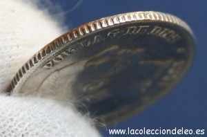 10 centavos peso 1885 canto